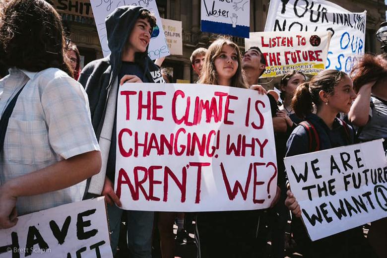 Querem chamar a atenção do Governo para os problemas relacionados com as alterações climáticas.