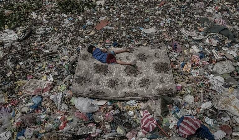 Foto nomeada na categoria Ambiente do World Press Photo 2019