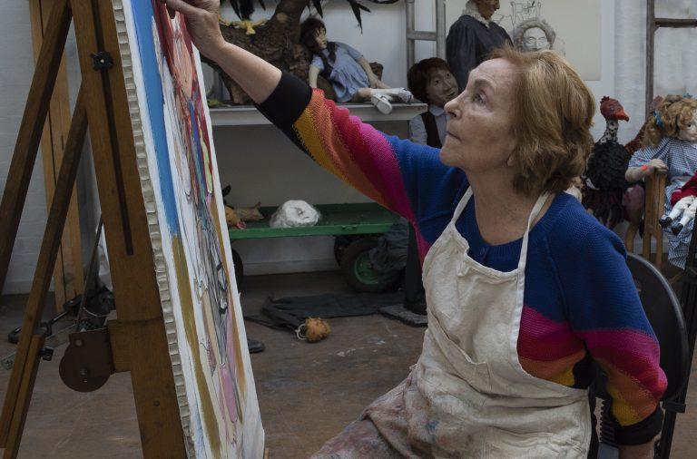 A pintora Paula Rego