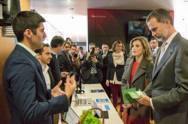 Tiago Sá apresenta a Wisecrop aos Reis de Espanha