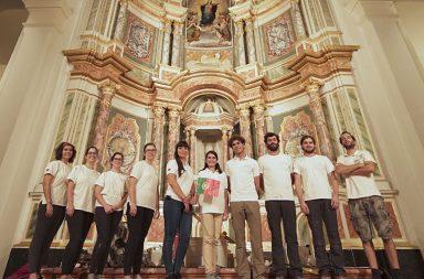 Parte da equipa da Dalmática envolvida na operação de restauro que conduziram no Panamá.