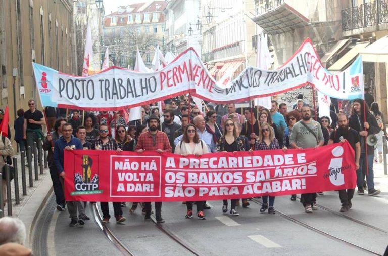 Manifestação CGTP