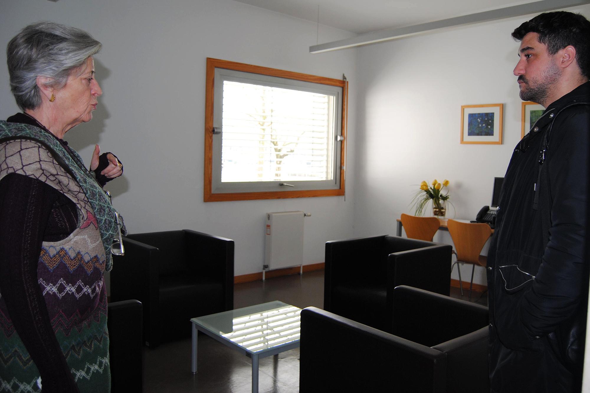 Maria Emília Costa está no Serviço de Consulta Psicológica desde a fundação, em 1981.