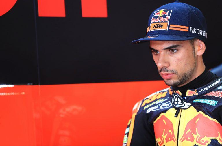 O Grande Prémio do Catar foi a estreia do piloto em MotoGP.