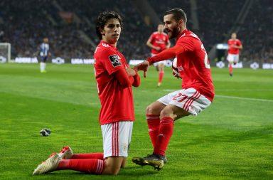 João Félix e Rafa deram a vitória ao Benfica no Estádio do Dragão.