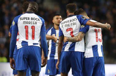 Alex Telles assistiu Éder Militão no segundo golo do FC Porto.