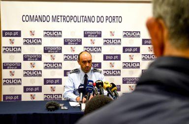 Operação de segurança da PSP para o jogo FC Porto-AS Roma foi apresentada esta manhã.