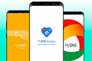 A aplicação MySNS está disponível na AppStore e na GooglePlay.