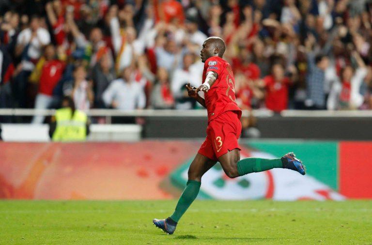 Danilo marcou o único golo da seleção portuguesa.