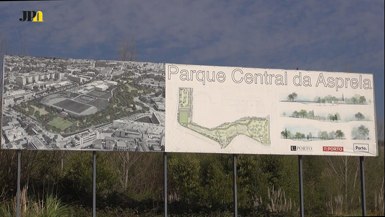 Nova zona verde nos arredores da Faculdade de Desporto vai ficar concluída até 2020.