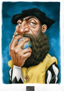Vencedor do Prémio Especial Caricatura Fernão Magalhães.