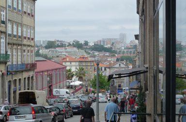 A Rua Ferreira Borges é uma das ruas que vai sofrer alterações.