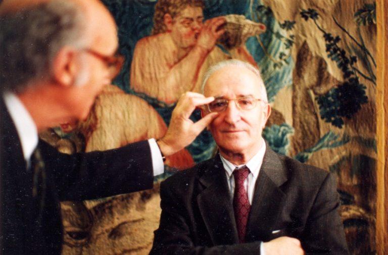 Eduardo Lourenço na Fundação José Saramago