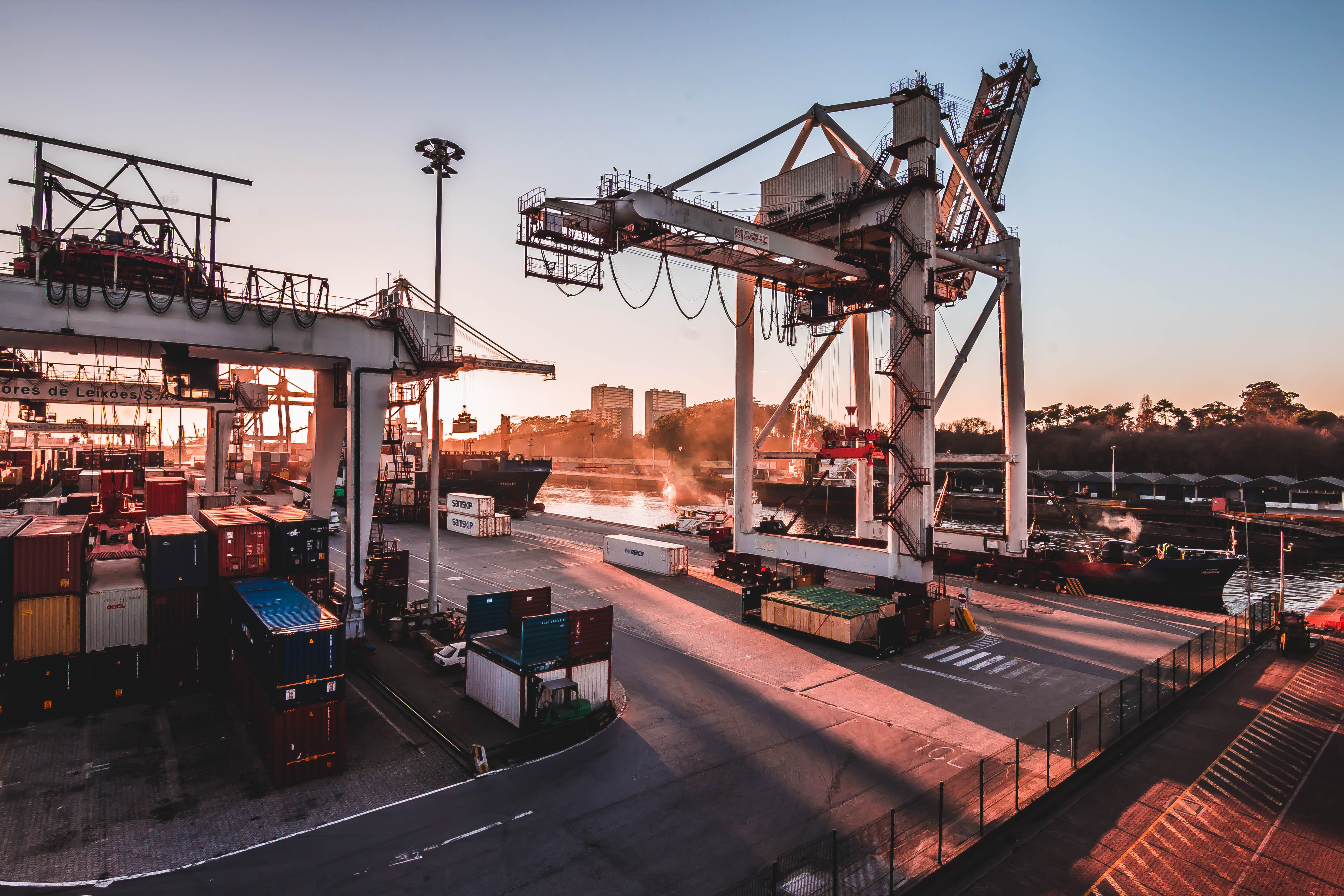 """Hugo Lopes, da Direção de Obras e Equipamentos da APDL, refere que obras no terminal de Porto de Leixões são """"indispensáveis"""" à modernização do porto."""