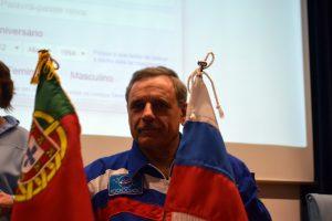 A presença do Mikhail Kornienko aconteceu no âmbito da celebração dos 240 anos de relações diplomáticas entre Portugal e a Rússia.
