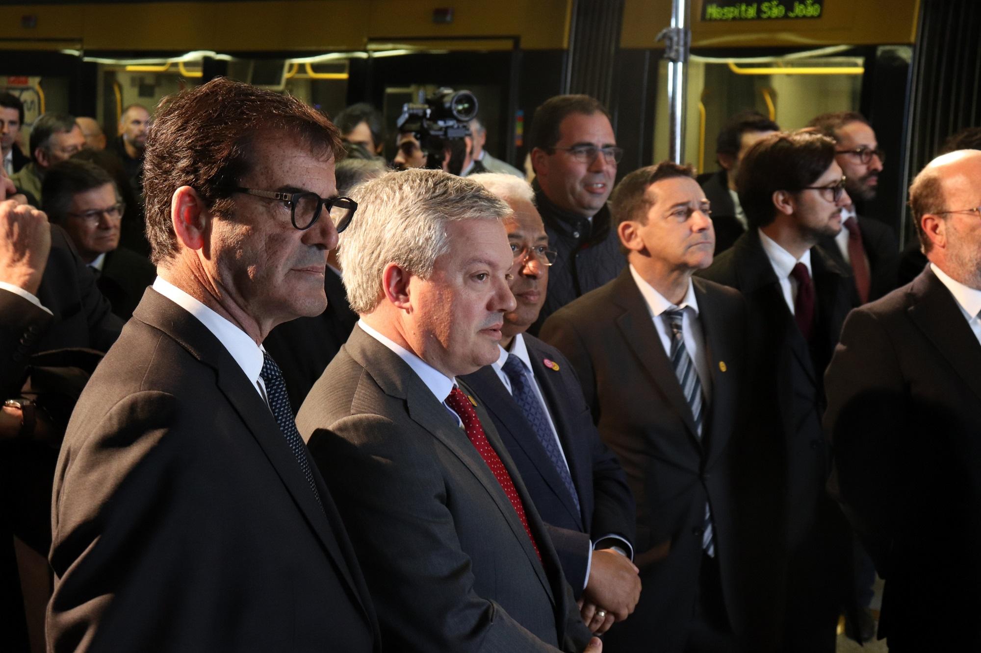 """Eduardo Vítor Rodrigues e Rui Moreira destacaram o """"longo e importante trajeto conjunto"""" de Porto e Vila Nova de Gaia."""