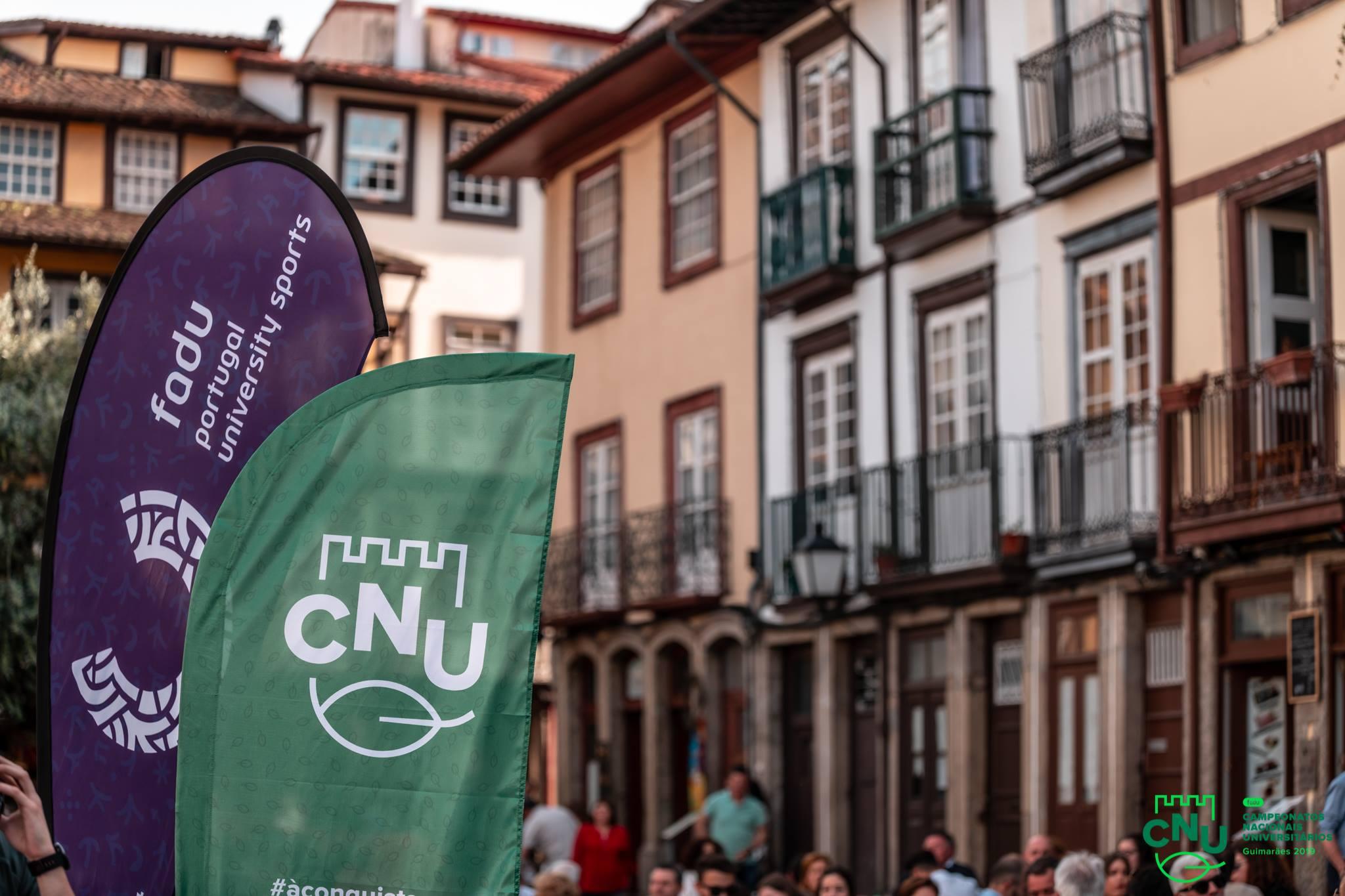 Guimarães acolhe este ano as fases finais dos Campeonatos Nacionais Universitários.