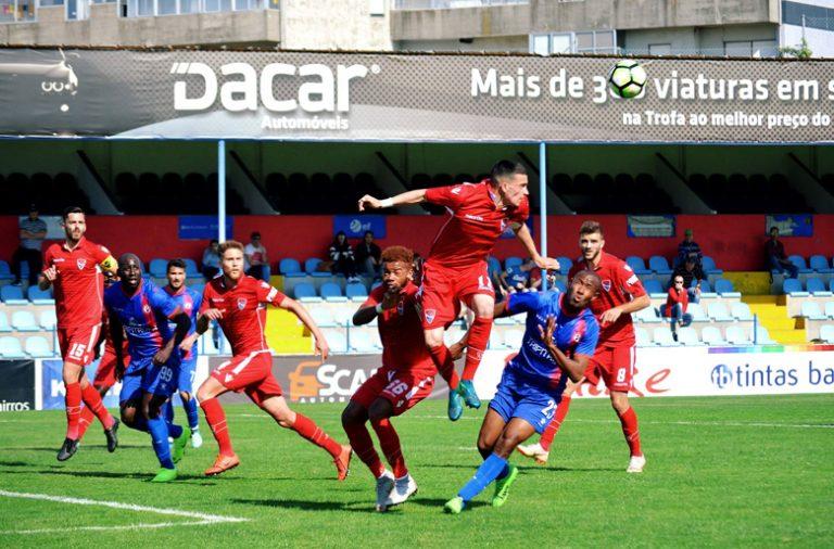 O Gil Vicente joga atualmente no Campeonato de Portugal.