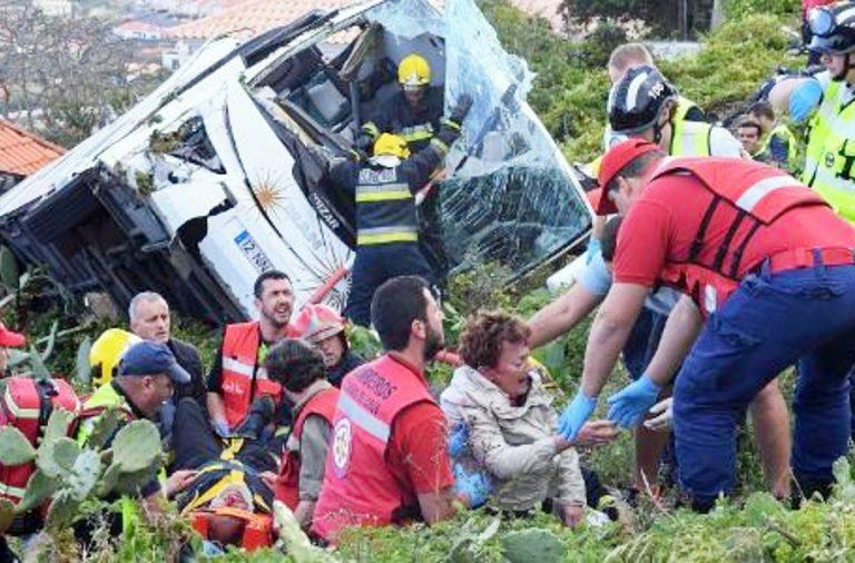 Socorro às vítimas foi imediato pelas autoridades locais.