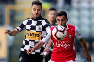 Boavista conquistou três pontos frente ao SC Braga no Estádio do Bessa.