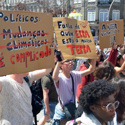 Greve, Greve Climática Estudantil, Porto
