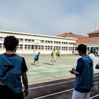 O jogo visto por dois rapazes da AEFDUP