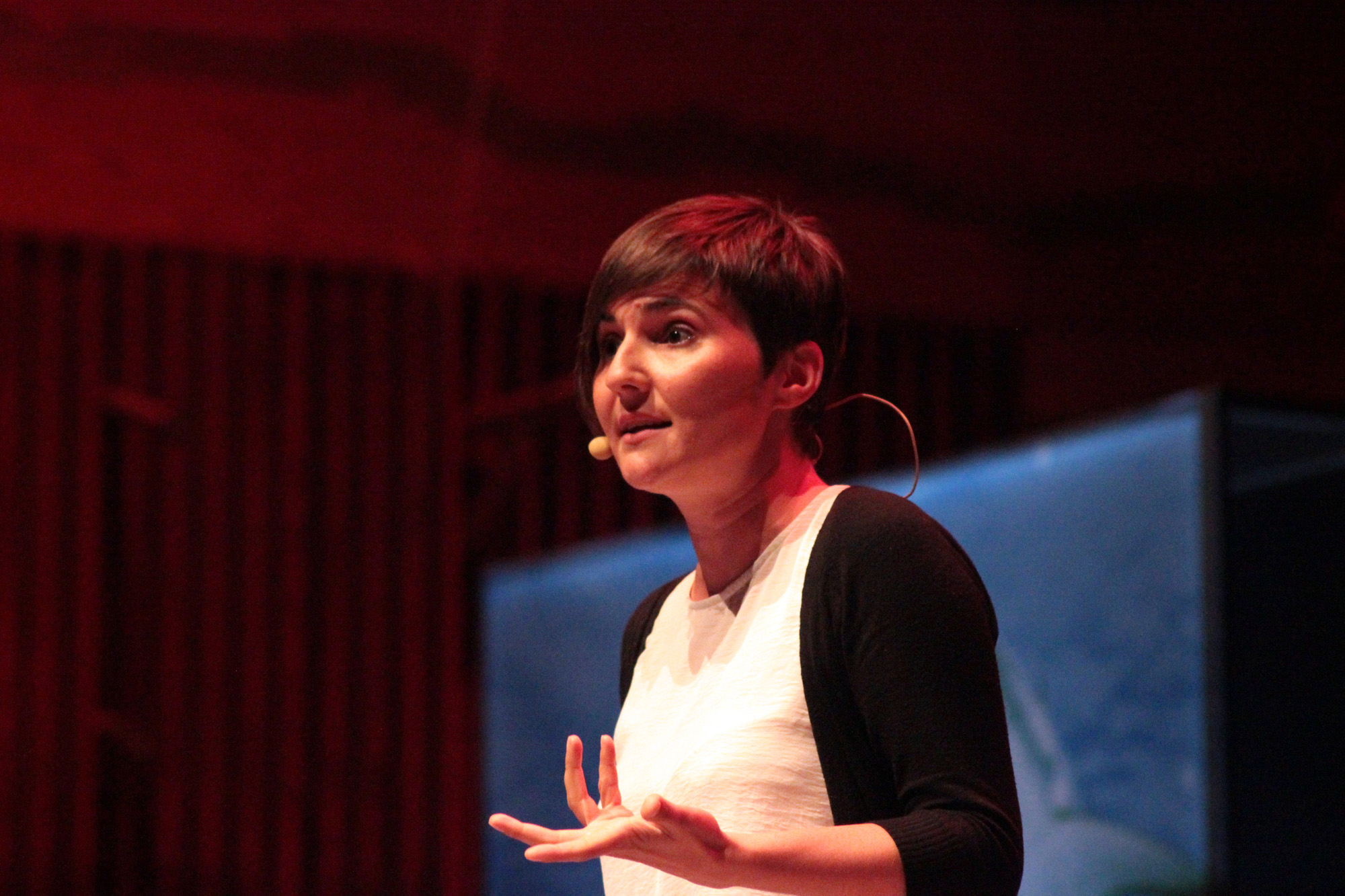 Ana Milhazes foi uma das oradoras convidadas da National Geographic Summit.