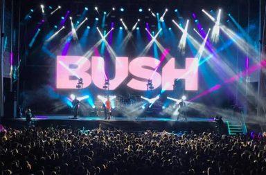 Os britânicos Bush foram os cabeças de cartaz do primeiro dia do North Music Festival.