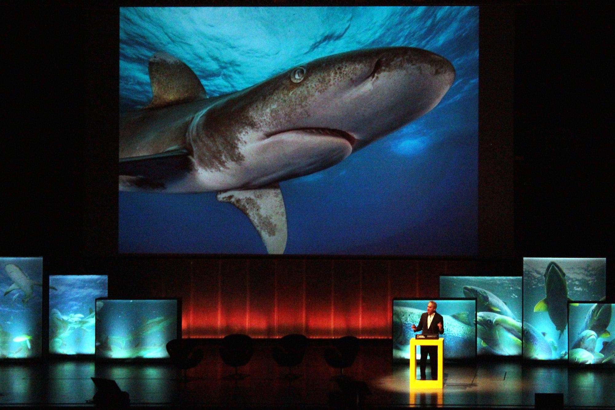 Brian Skerry foi um dos principais oradores.