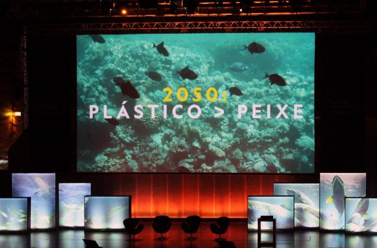 O plástico deu o mote a mais uma conferência da National Geographic.