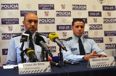 A operação de segurança da PSP foi esta manhã apresentada no Comando Metropolitano do Porto.