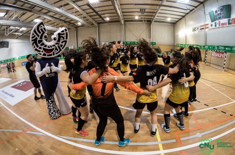 A U.Porto venceu pela sétimo vez o Campeonato Nacional Universitário de andebol feminino.