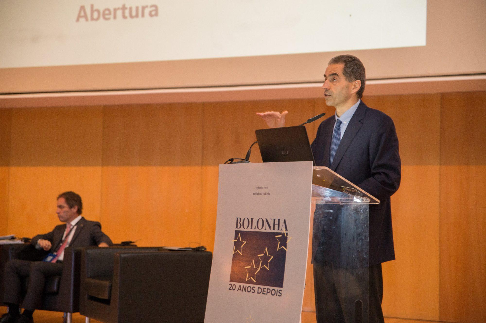 Ministro Manuel Heitor participou na sessão de abertura.