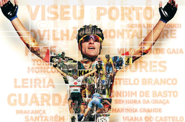 A Volta a Portugal em Bicicleta decorre este ano entre 31 de julho e 11 de agosto.