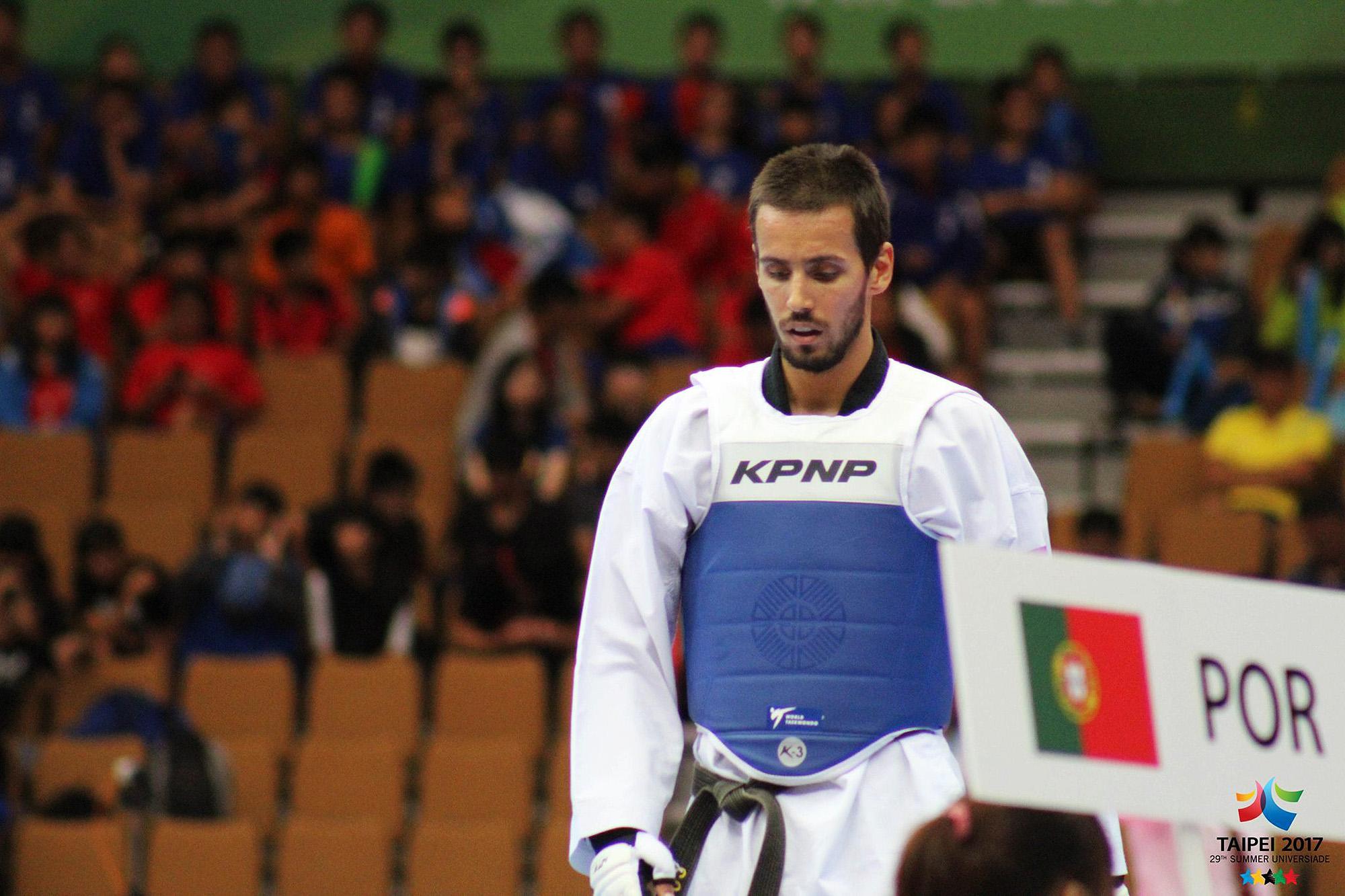 Rui Bragança combateu em três universíadas: 2011, 2015 e 2017.