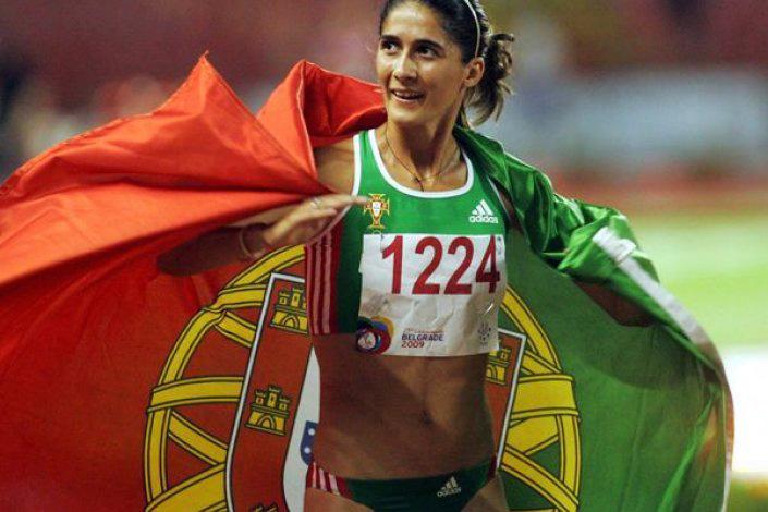 Depois das duas de ouro em 2009, Sara Moreira ainda havia de conquistar a prata em 2011.