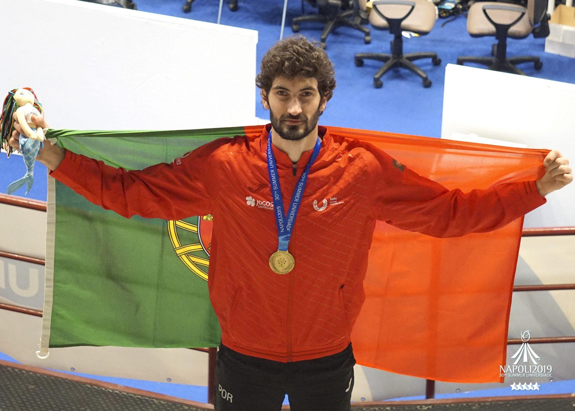 Júlio Ferreira é estudante da Universidade do Minho e atleta do SC Braga.