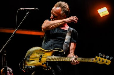 Sting assinou o concerto mais importante da noite.