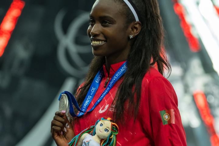 Evelise Veiga conquistou as suas primeiras medalhas ao nível internacional.