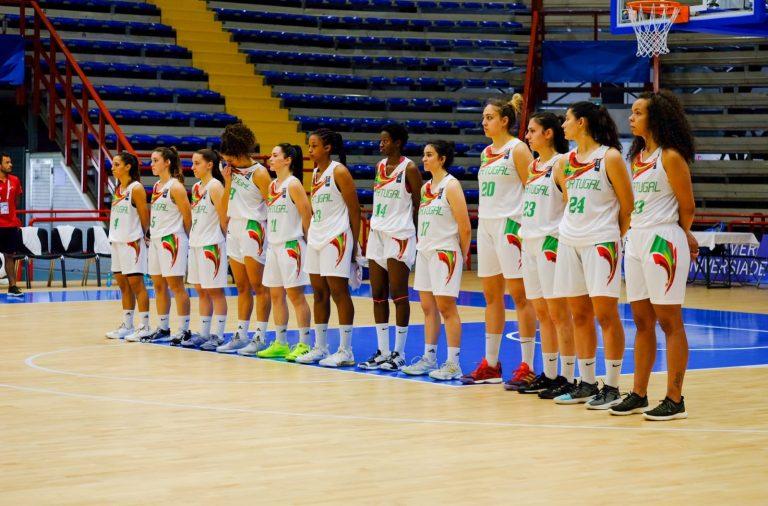 A seleção universitária de basquetebol feminino chegou às meias-finais das Universíadas pela primeira vez na história.