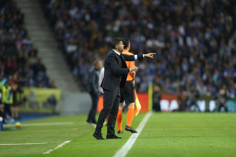 Sérgio Conceição fez alguma alterações importantes na equipa.