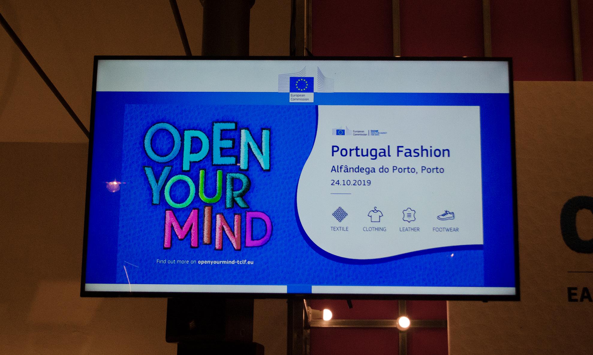 "Projeto ""Open your mind"" foi apresentado durante o Portugal Fashion."