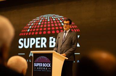 Rui Moreira, presidente da Câmara do Porto, na inauguração.