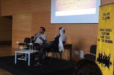 Tiago Teotónio Pereira e Diogo Batáguas foram os convidados da sessão.