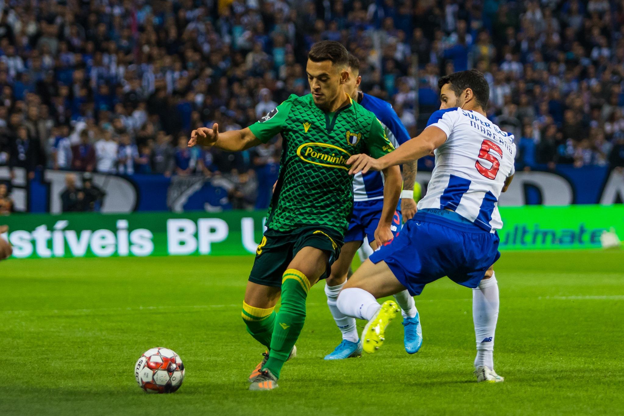 Famalicão chegou ao Dragão na condição de líder do campeonato.