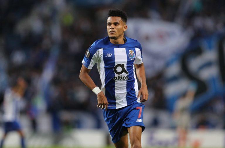 Luis Díaz marcou o único golo dos dragões no jogo.