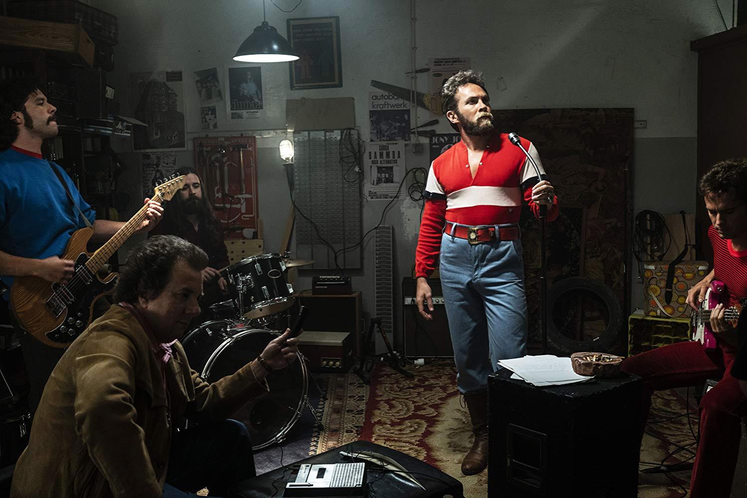 Sérgio Praia interpreta António Variações no filme de João Maia.