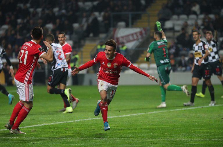 O Benfica venceu com folga o Boavista no Bessa.