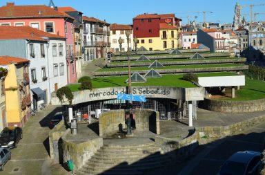 O Mercado de São Sebastião deverá estar reabilitado ainda este ano.