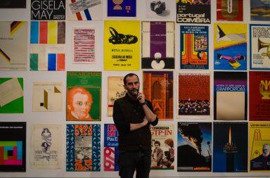 A coleção de cartazes pode ser visitada até dia 11 de abril na Faculdade de Belas Artes da Universidade do Porto.